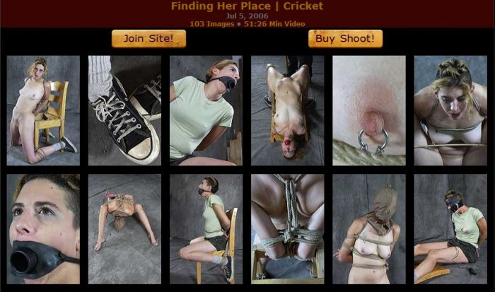 20060705 HardTied - Finding Her Place, Cricket