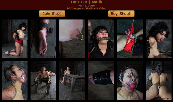 20060308 HardTied - Hair Cut, Malik