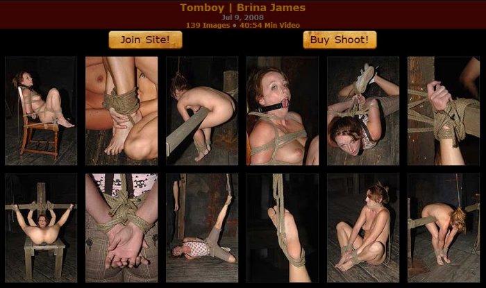 20080709 HardTied - Tomboy, Brina James