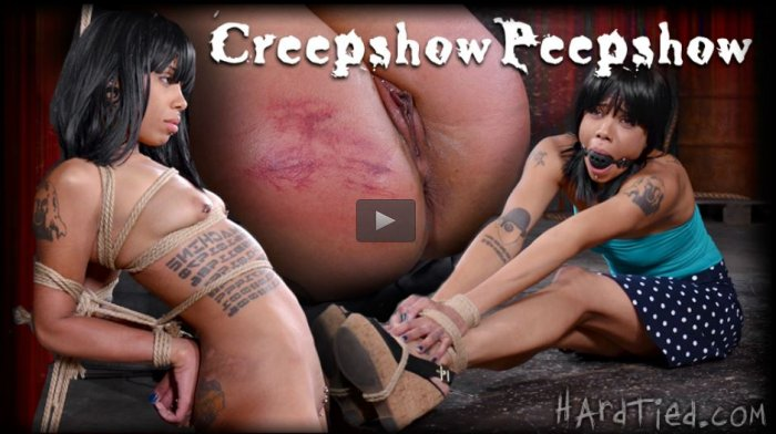 20150527 HardTied - Creepshow Peepshow, Jessica Creepshow, Jack Hammer