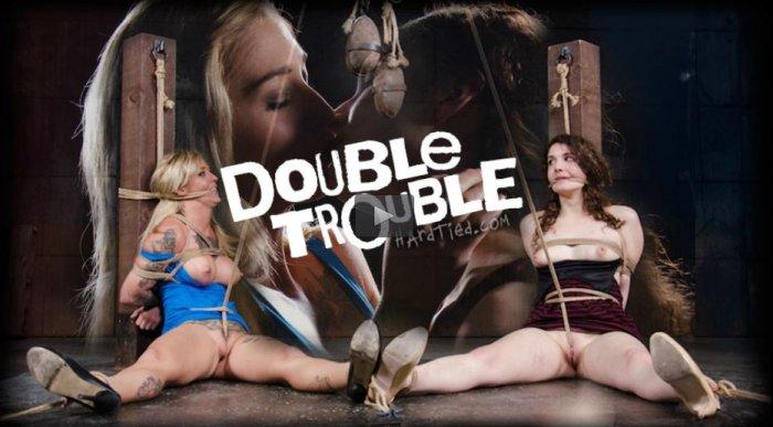 20150617 HardTied - Double Trouble, Kleio Valentien, Endza Adair, Jack Hammer