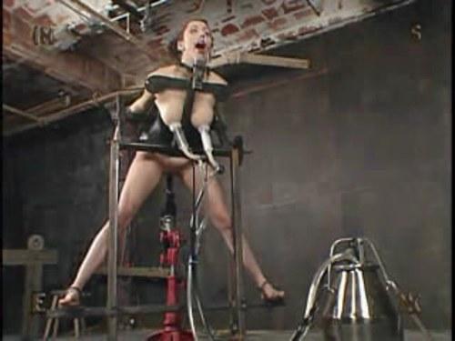Milk machine torture girl
